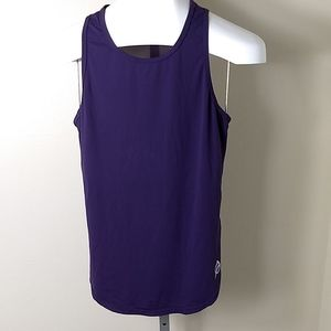 P'tula Purple Tank Top - Medium - Mesh Back
